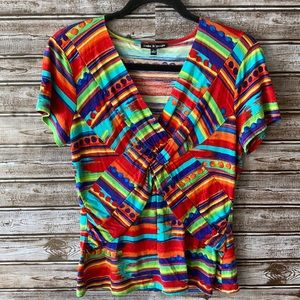 Cable & Gauge Multi-colored Shirt